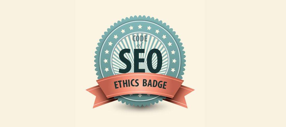 SEO Ethics Code Badge